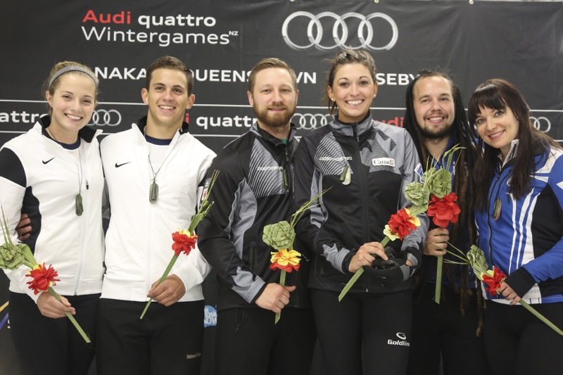 Audi quattro Winter Games NZ medallists