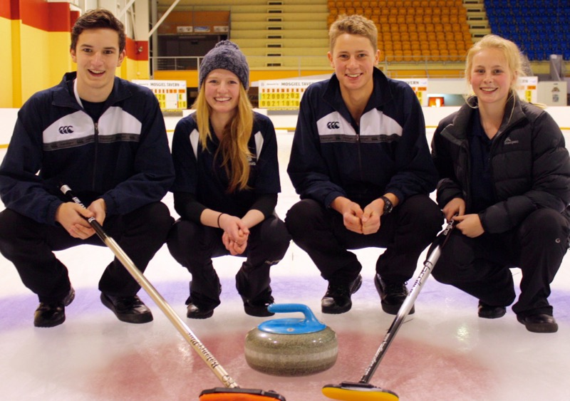 NZ 2016 YOG Curling team