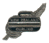 NZ Curling pin