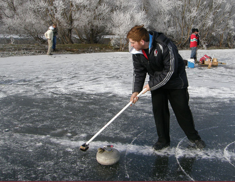 Kieran Ford at 2010 National Bonspiel