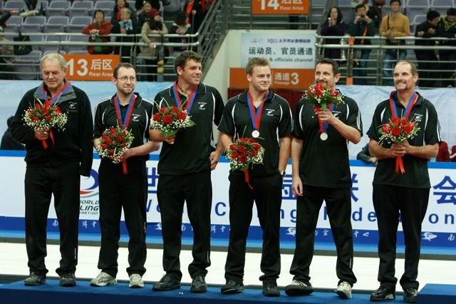NZL Men, Silver medalists
