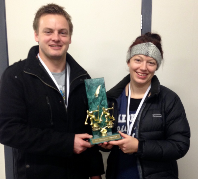 2015 NZ Mixed Doubles champions
