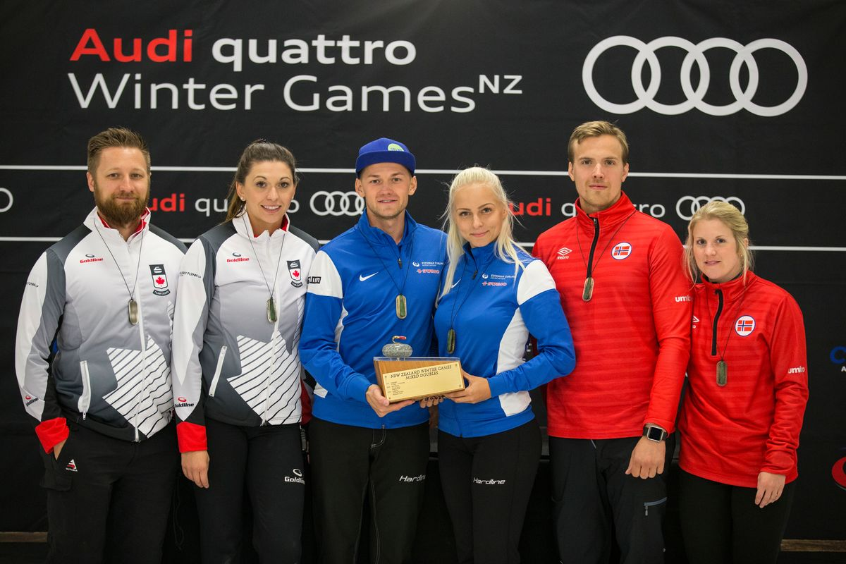 Audi quattro Winter Games NZ 2017 podium