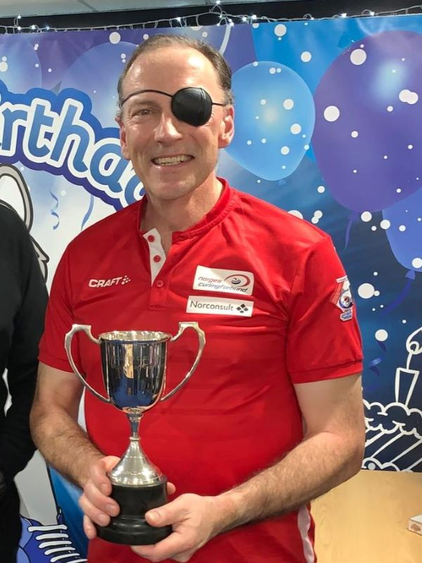 2019 Auckland Spirit of Curling Award winner, Iain Craig