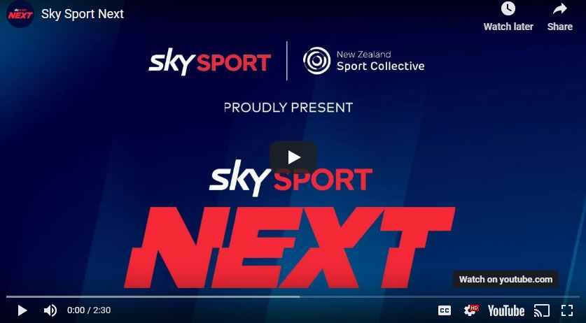 Link to Sky Sport Next announcement