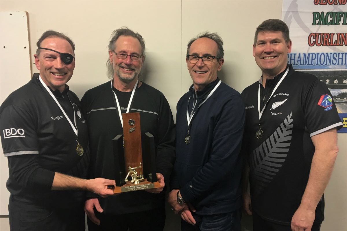 2019 NZ Senior Men's Championship winners