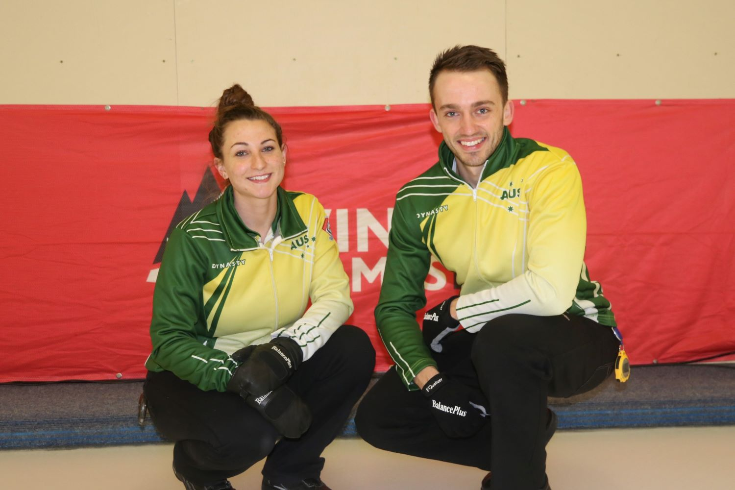 Team AUS1 - Tahli Gill and Dean Hewitt
