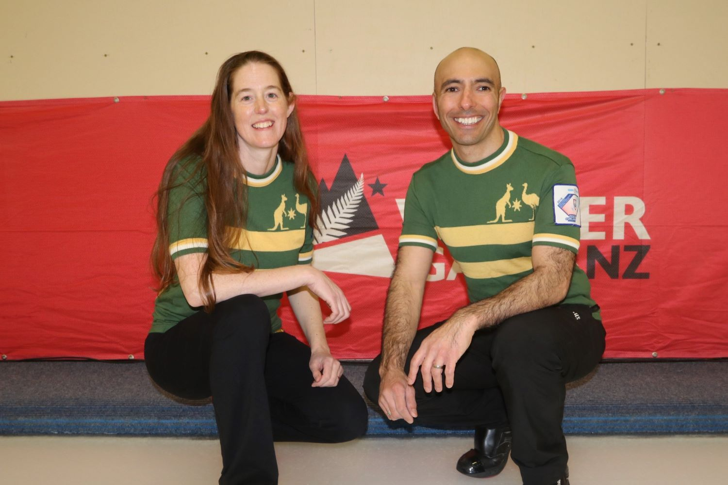 Team AUS2 - Jennifer Westhagen and Matt Panoussi