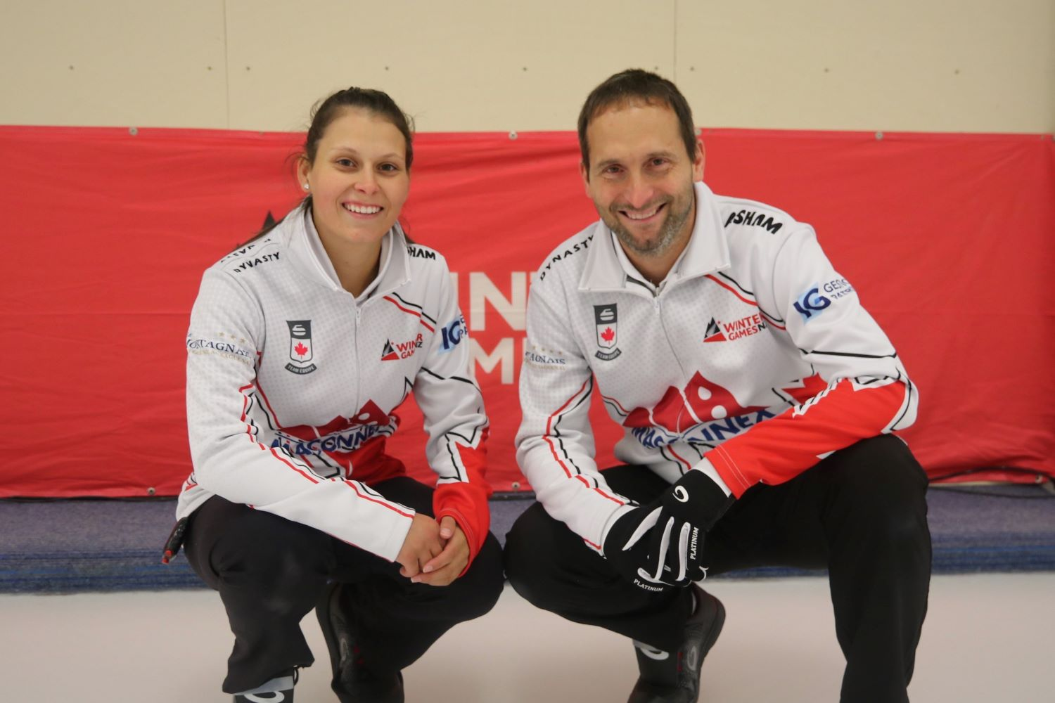 Team Canada - Emilie Desjardins and Robert Desjardins