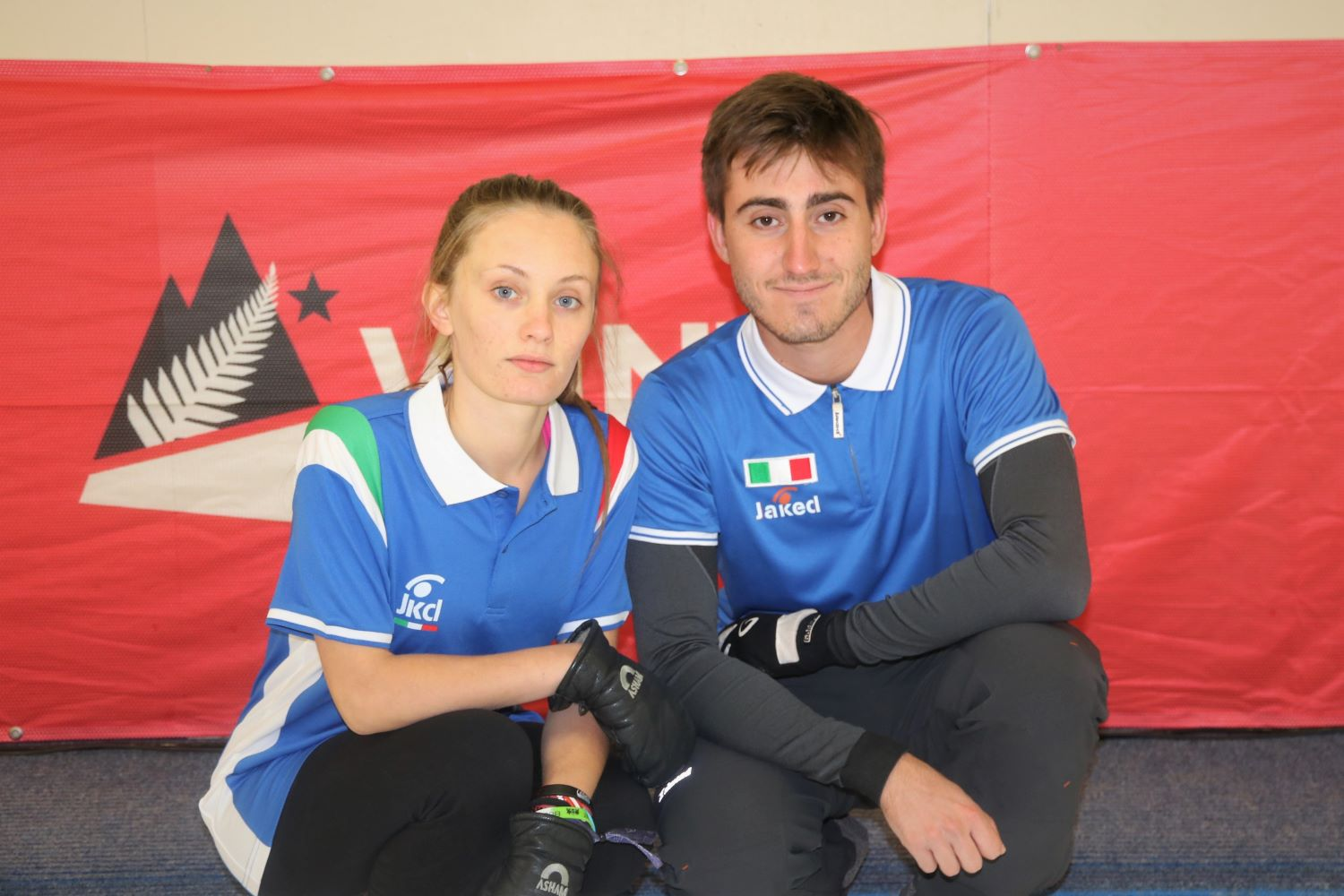 Team Italy - Annamaria Maurino and Fabrizio Gallo
