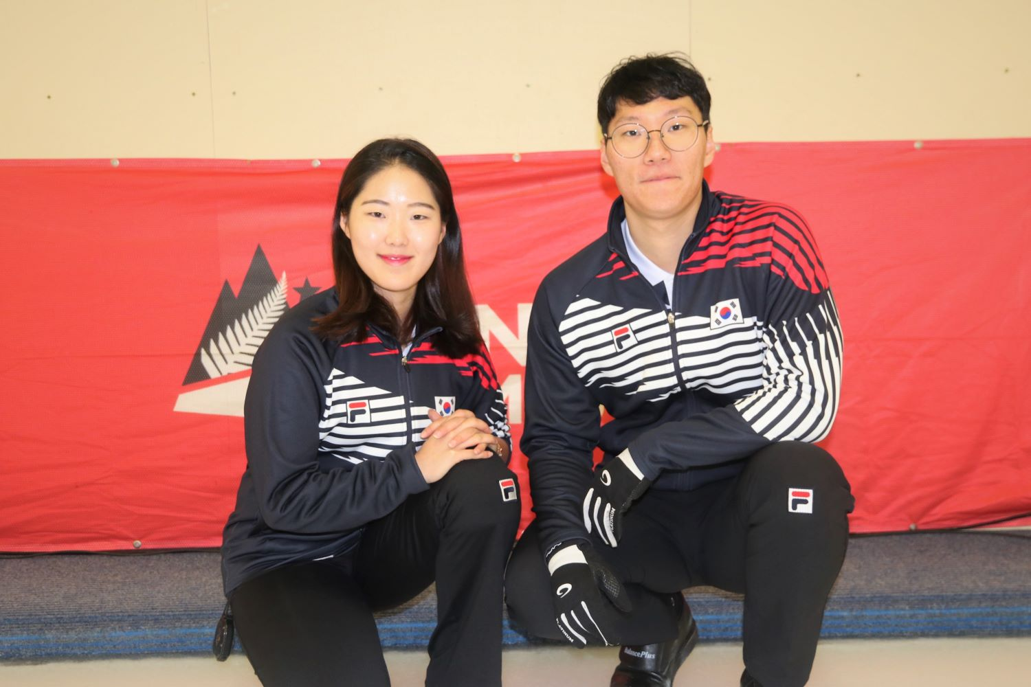Team Korea - Hyeji Jang and Yujin Seong