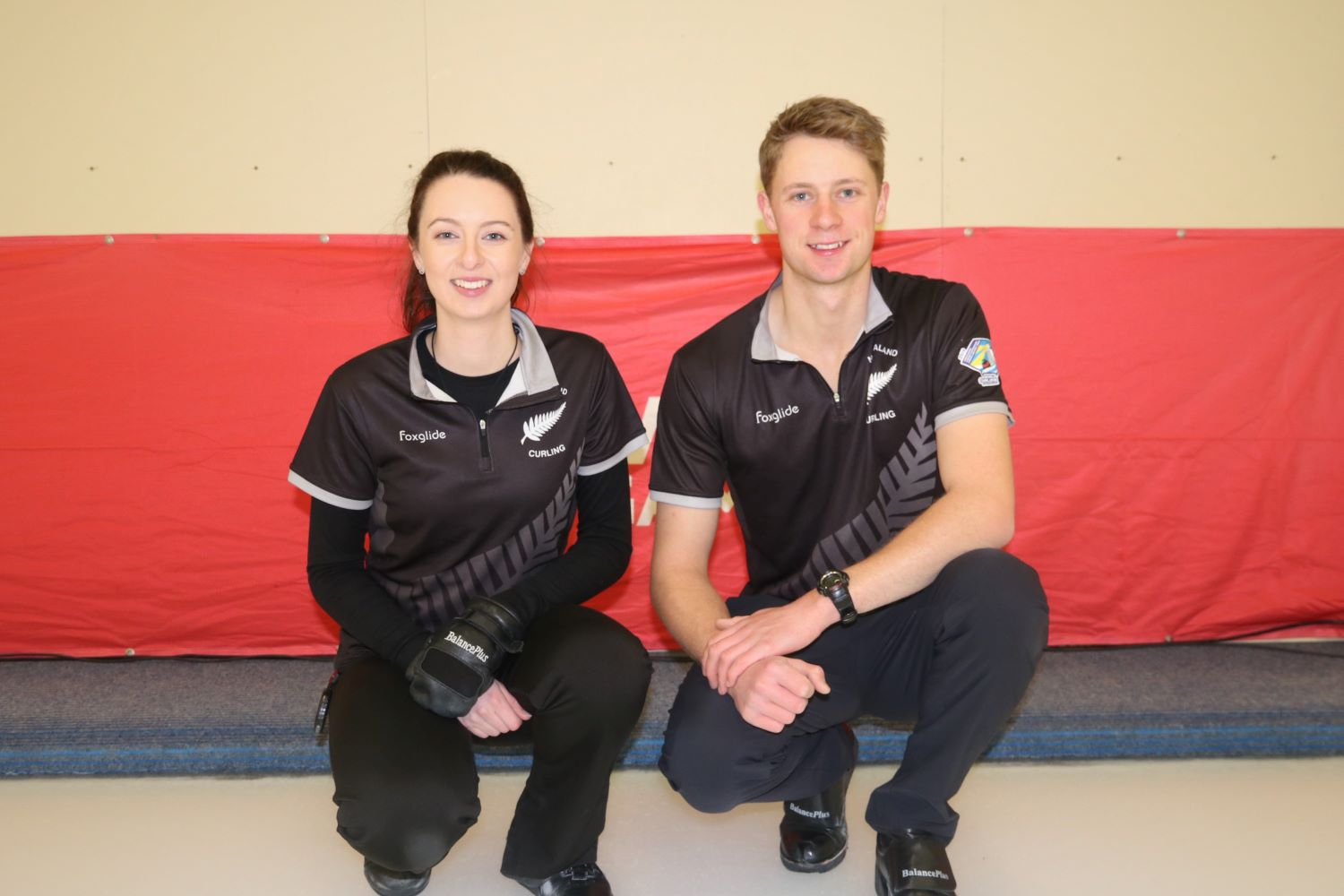 Jess Smith and Ben Smith, Team NZL