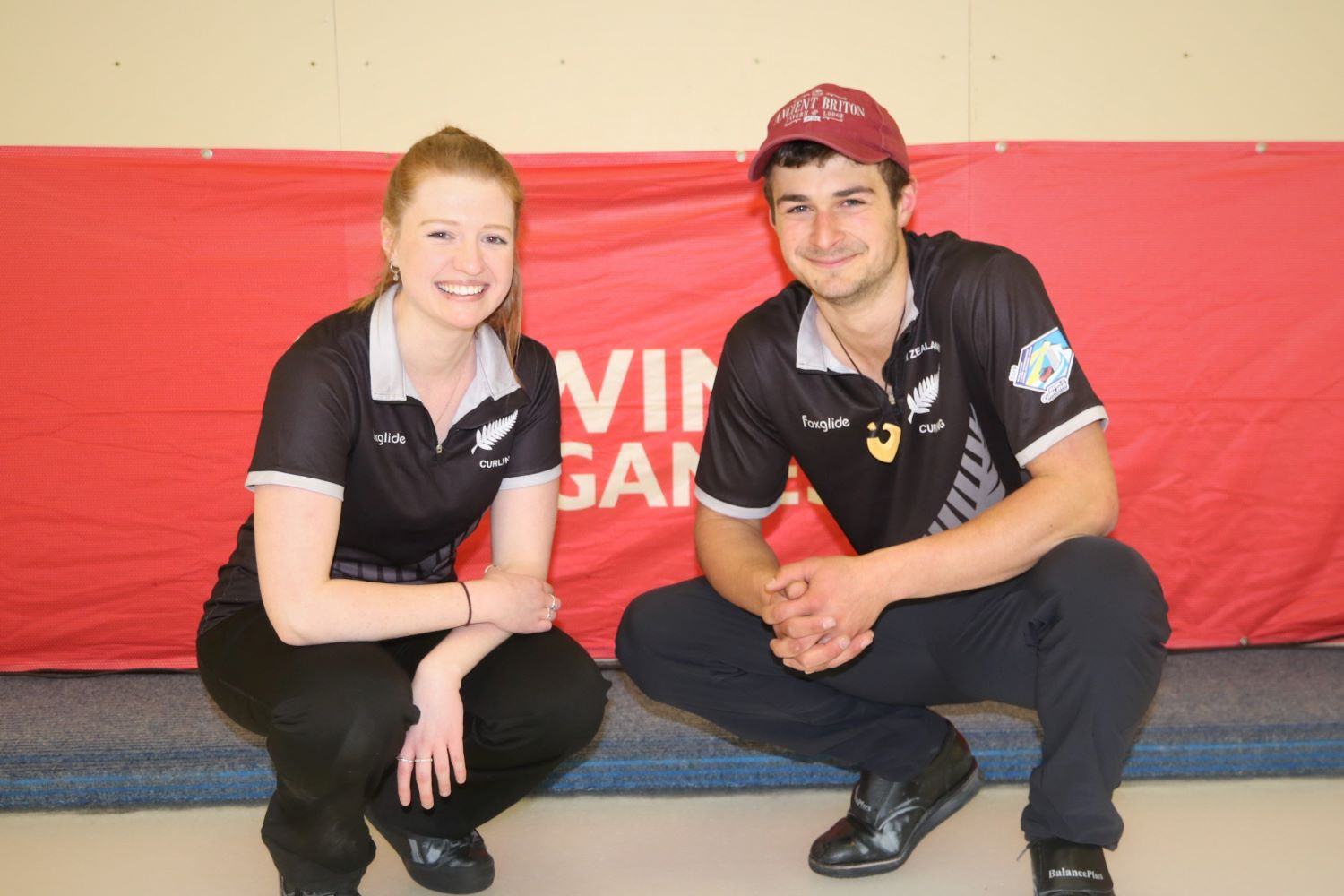 Team NZL2 - Holly Thompson and Anton Hood