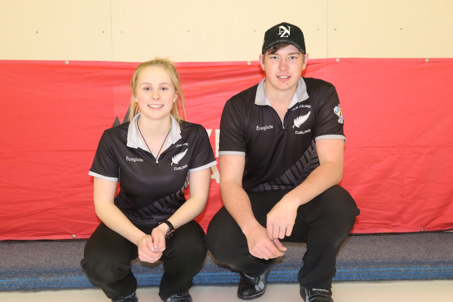 Team NZL3 - Courtney Smith and Hamish Walker