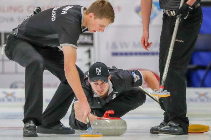 Ben Smith and Anton Hood, NZ v Switzerland at WJCC2019
