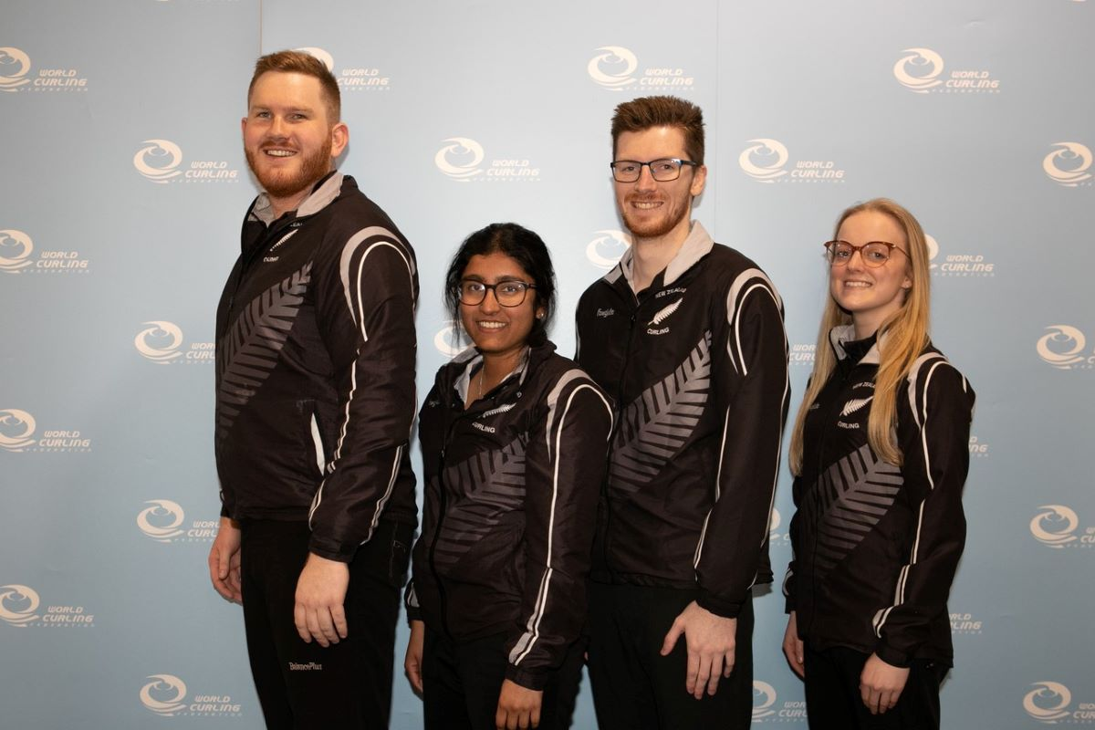 Team NZ at 2019 World Mixed Championship