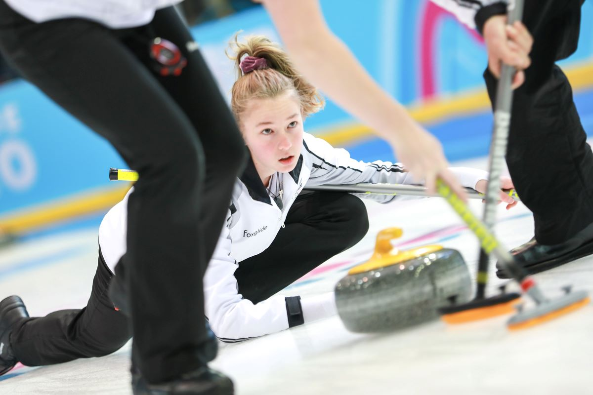 Zoe Harman at the 2020 Winter Youth Olympic Games