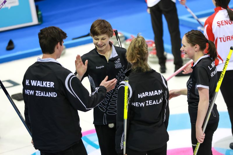 Team NZ at 2020 Youth Olympic Games